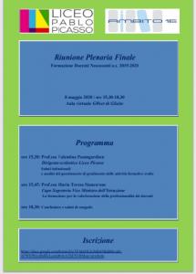 Locandina riunione plenariaa 19-20